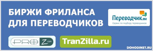 Биржи фриланса для переводчиков