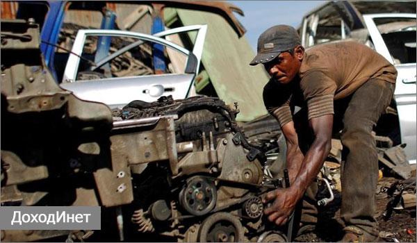 Разборка и утилизация старых автомобилей