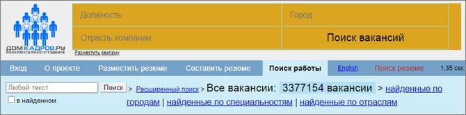 Domkadrov.ru