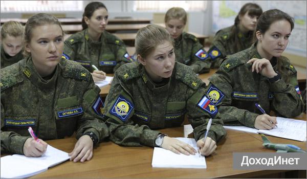 Военное образование для девушек после 9 или 11 класса