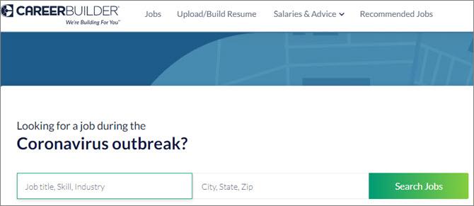 Careerbuilder.com - поиск работы в крупных компаниях США