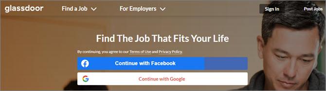 Glassdoor.com - поиск работы во всем мире