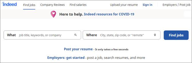 Indeed.com - международный онлайн-сервис по трудоустройству