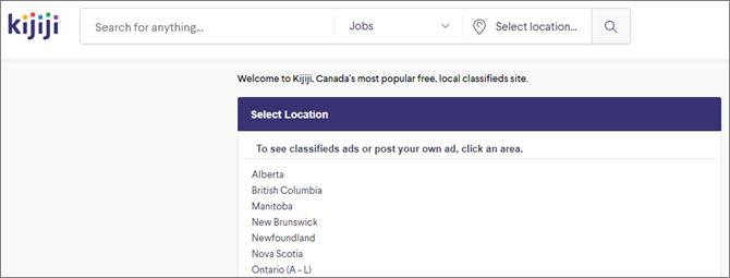 Kijiji - канадский рекламный онлайн-сервис