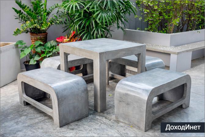 Бизнес по производству бетонных изделий