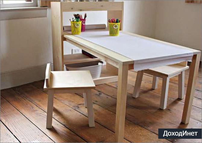 Производство мебели в частном доме