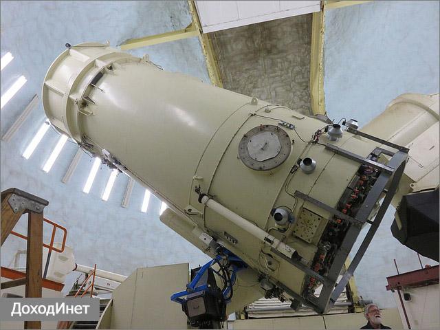 Телескоп в обсерватории