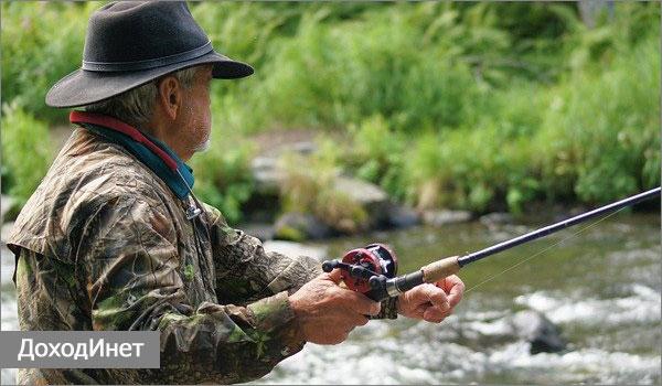 Ловля рыбы в частном водоеме