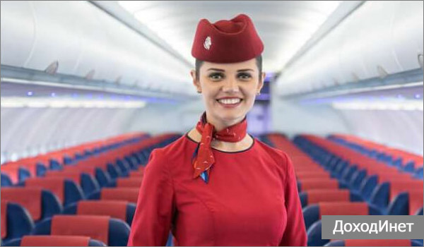 Стюардесса - профессия для девушек, которые любят много путешествовать