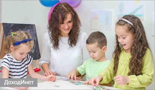 Учитель начальных классов может проводить развивающие курсы для детей