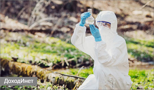 Химик-эколог - подходящая девушкам специальность