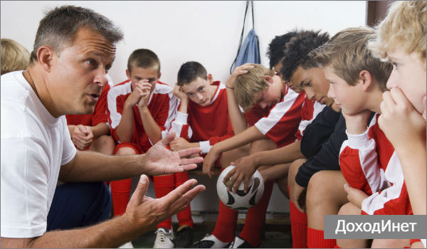 Профессия детский тренер